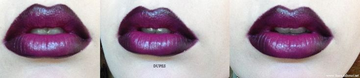 MAC Heroine lipstick dupe-  Products used: MAC's Nightmoth lip liner and Girl About Town lipstick