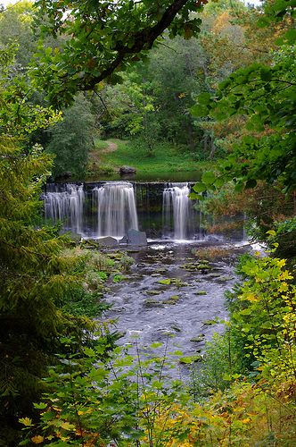 Keila-Joa waterfall, National Park, North Estonia
