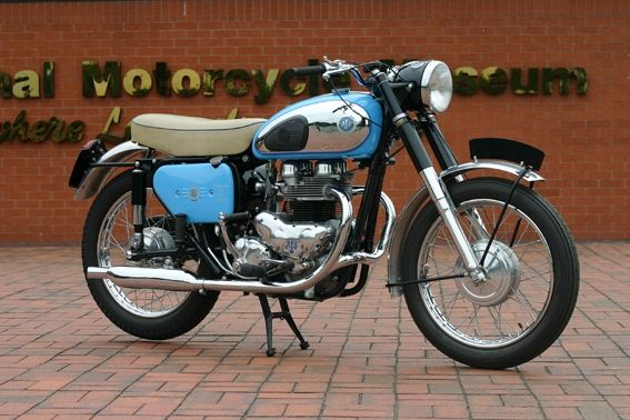 ajs motorcycles | 1960 650cc AJS Model 31CSR