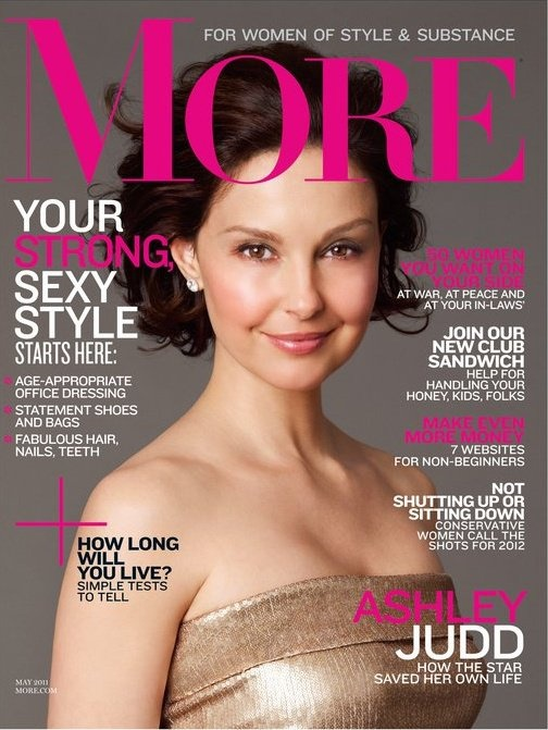 More Magazine Cover, May 2011