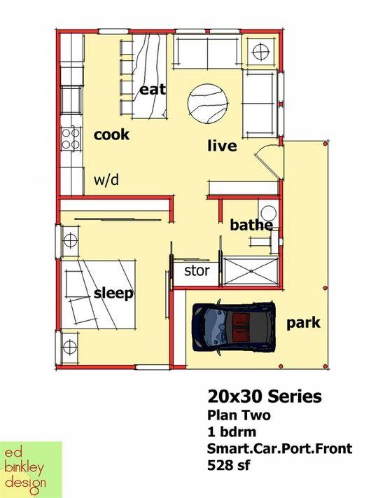 Best 25 20x30 house plans ideas on Pinterest