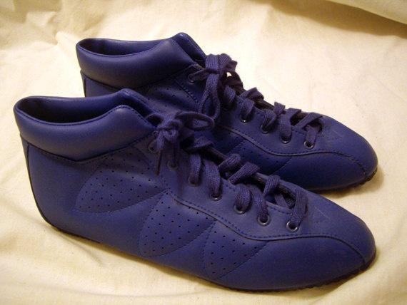 1980s Boxing Sneakers in Blue by ClosetOverflow on Etsy, $20.00 ( VIP Fashion Australia www.vipfashionaustralia.com - international clothes shop )