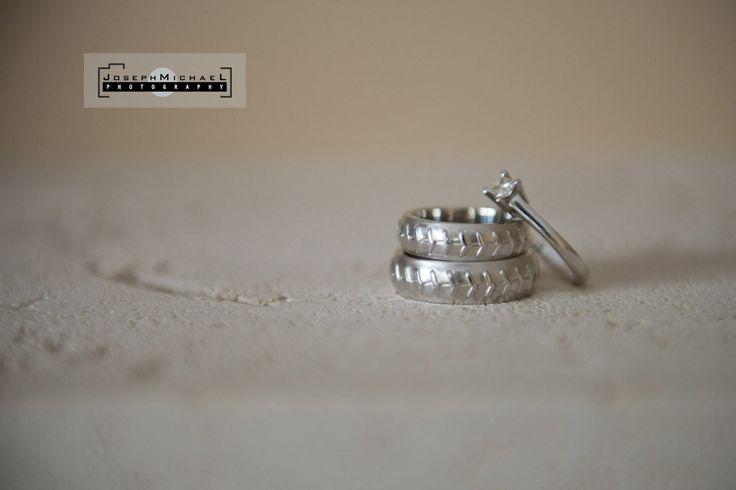 Baseball Themed Rings, baseball rings, baseball themed wedding rings, wedding rings with baseball theme