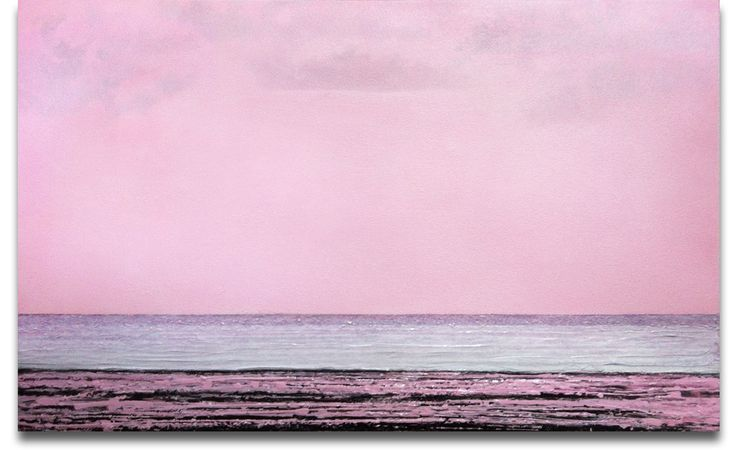 Tide #2, 2013, acrylic and sand on panel, 56cm x 91cm