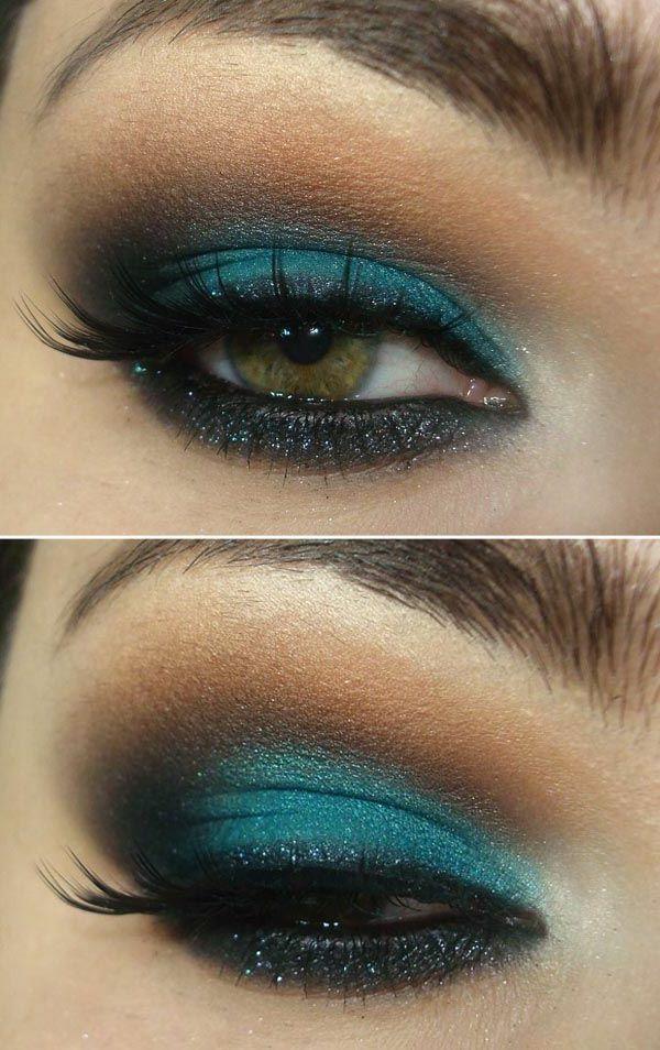 Subtiles Augen Make-up – Nette Tipps und Tricks – Lieblingsfarbe Türkis