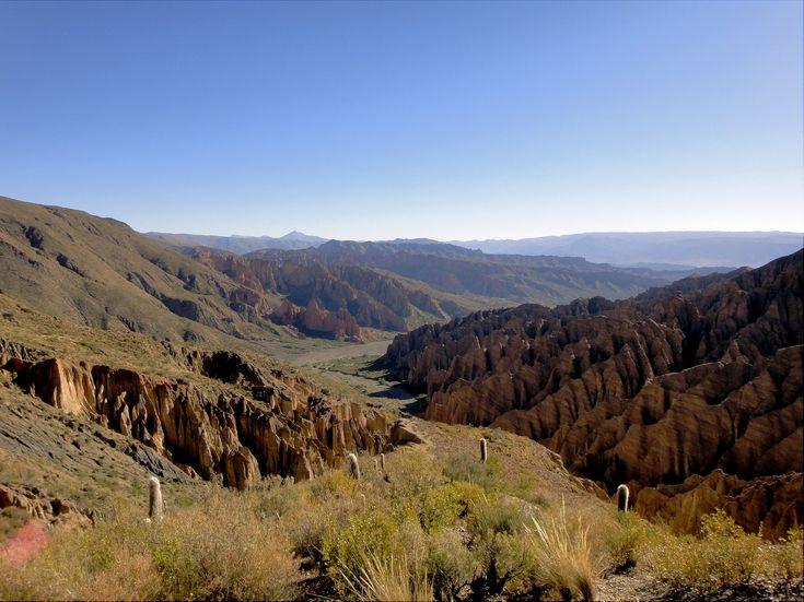 Beautiful scenery in Bolivia's south-west. http://www.worldtravelfiend.com/salar-de-uyuni-experience-1/ #travel #backpacking #Bolivia