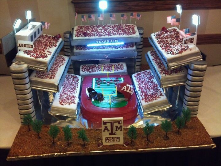Best Aggie Cakes Images On Pinterest Groom Cake Aggie Ring - Crazy cake designs lego grooms cake design