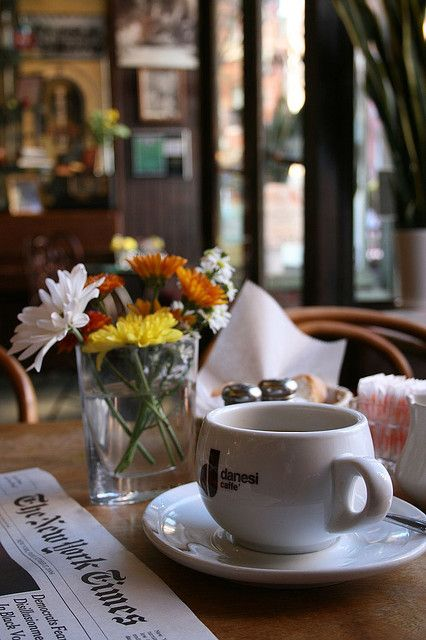 Sunday morning - coffee time
