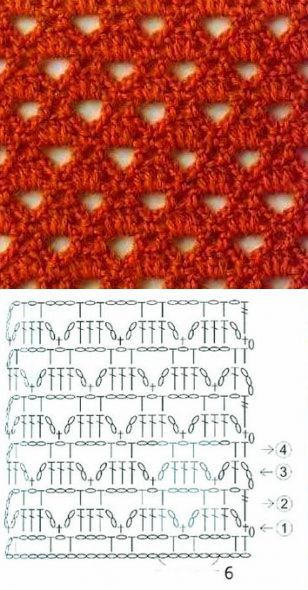 Openwork Crochet Stitch - Knitting Bee More