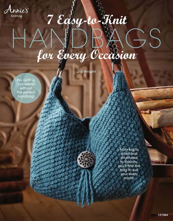 184 best Knitting: Bags & Baskets images on Pinterest | Knitting ...