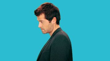 """""""Misha Collins tweeted this GIF of himself with the words: 'If this is how it works, I'm going to owe millions in child support'. #brainsandlooksandfunny """""""