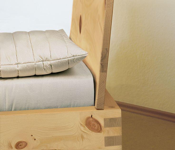 Good Einzelbett und Doppelbett Verona Zirbe allnatura ch