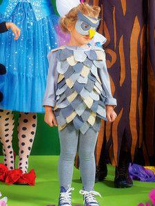 burda style: Fasching - Kinderkostüme - Kinder-Tierkostüme - Eule - Kleid und Maske