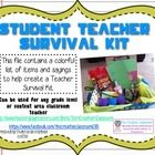 I created this file while I was making a Student Teaching Survival Kit for my student teacher and thought I would share it....