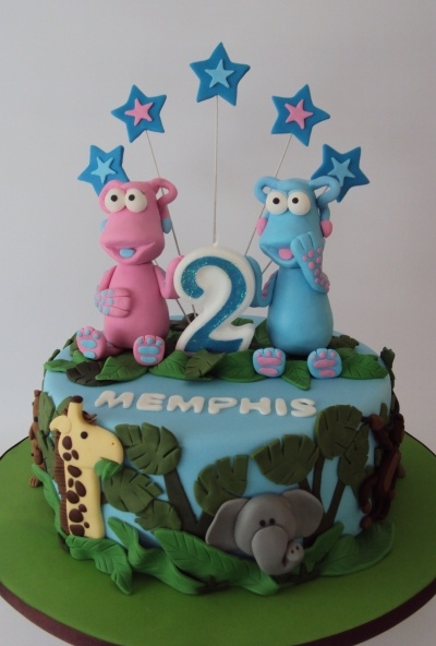 The WotWots Zoo Cake By Yummy-MummyCakeCreations on CakeCentral.com