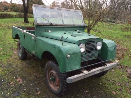"""Rust Free Series 1 86"""" SWB For Restoration For Sale (1954)"""