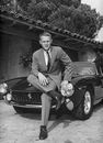 Steve McQueen and his Ferrari