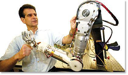 dean kamen robotic arm - Google Search