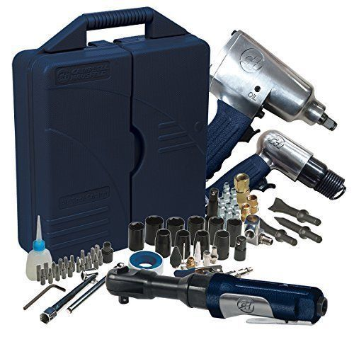 Air Compressor Tools Set 62 Piece Impact Wrench Ratchet Combo Hammer Repair Kit  #ToolsSet