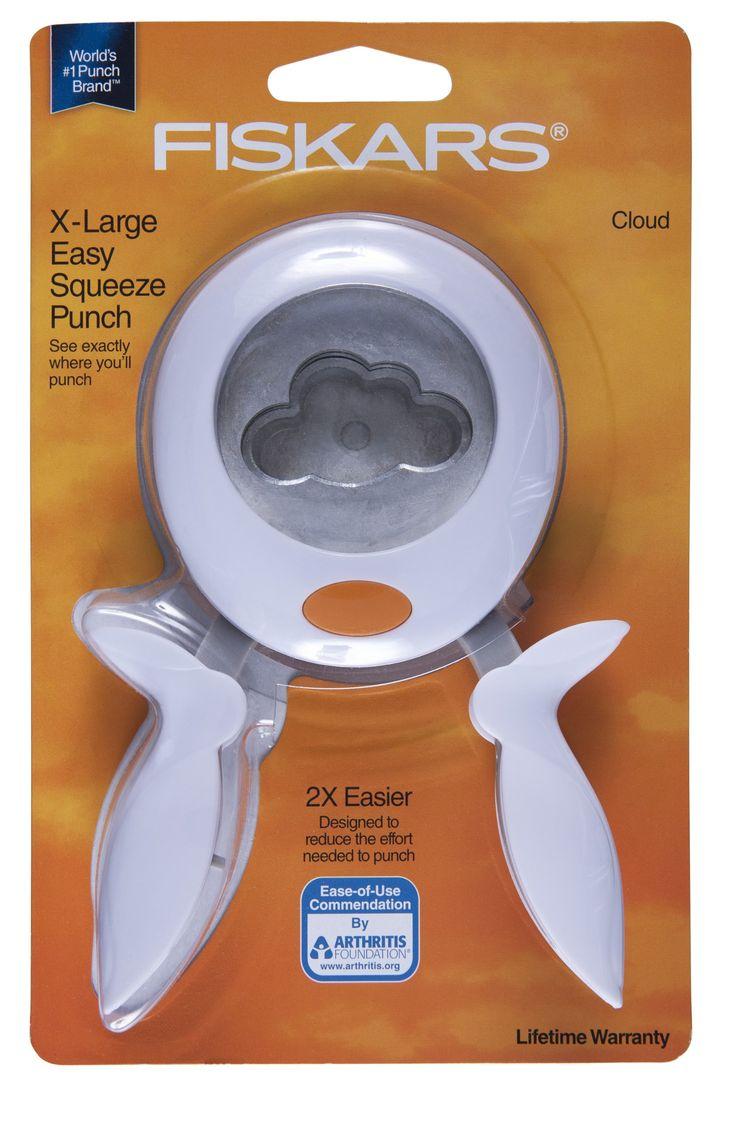 Amazon.com: Fiskars Cloud Squeeze Punch, Extra-Large
