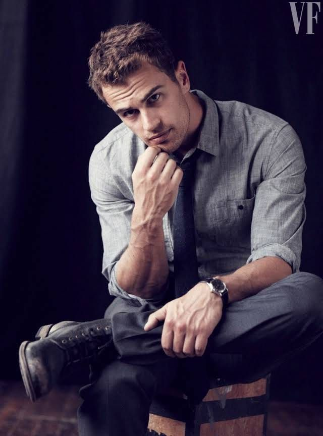 Photos: Theo James, Divergent Star, Plays Shailene Woodley ...