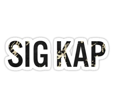 Sigma kappa sticker • also buy this artwork on stickers
