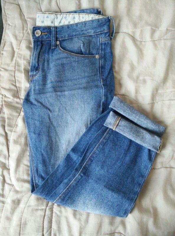 Pantacourt femme en jean