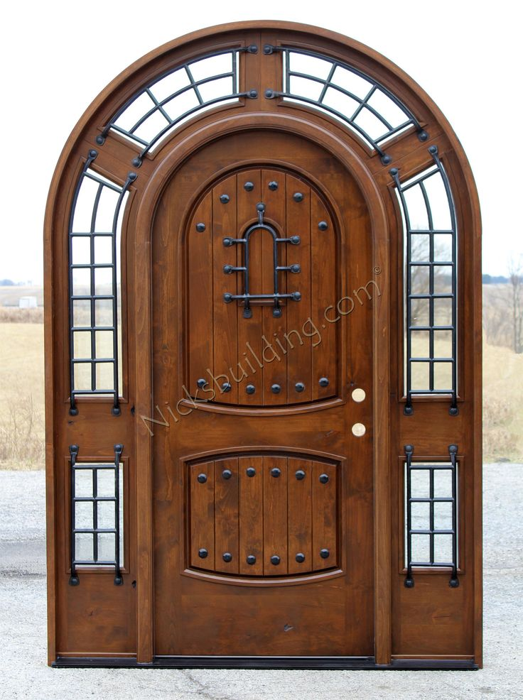 Inspirational Round top Entry Door