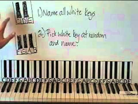 how to play keyboard for beginners lesson 1