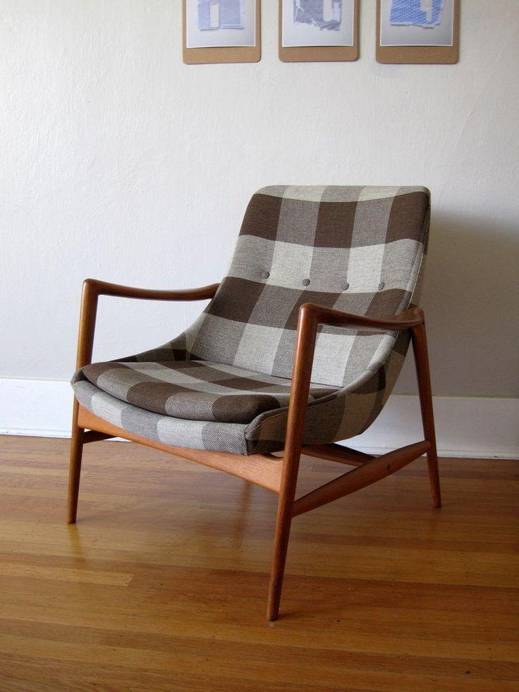 ELEGANT Vintage Norwegian Modern Armchair