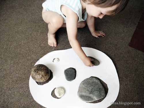 Pebbles puzzle- you really can make anything into a puzzle