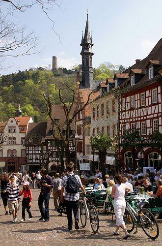 Marktplatz, Weinheim, Germany