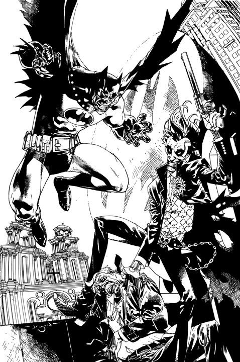 Batman vs the Joker by Jason Pearson