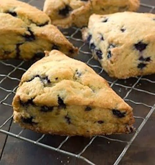 GF - SIMPLY 123 ALLERGY FREE: Blueberry Breakfast Scones