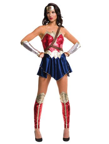 Dawn of Justice Wonder Woman Costume - fancydress.com - Angels Fancy Dress Costumes