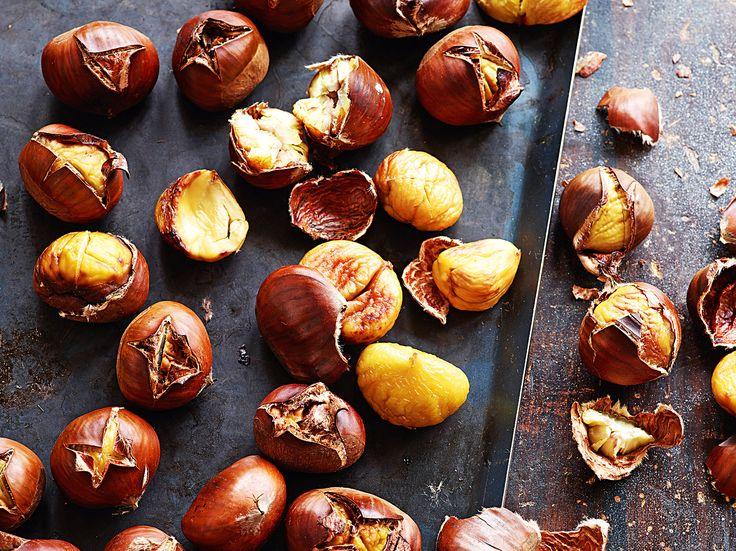 Marroni aus dem Ofen - Rezept - Saisonküche