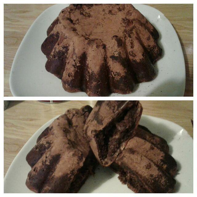Soft chocolate cake