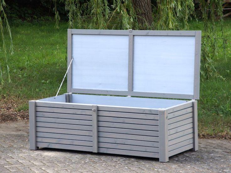 Auflagenbox / Kissenbox aus Douglasie, regendicht, diffusionsoffen