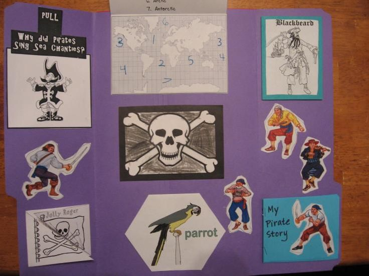 Free Pirate Printables / Unit Study Lapbook!