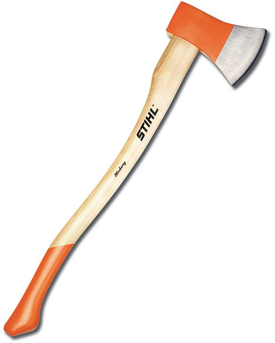 Felling Axe by STIHL. I carry this axe in my Jeep. It has a full size head but a shorter handle. Perfect for the Jeep.