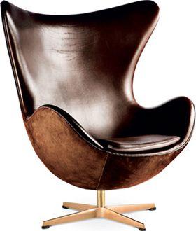 """Arne Jacobsen's """"The egg"""" """"Ægget"""", 1958. 50 years anniversary  model."""