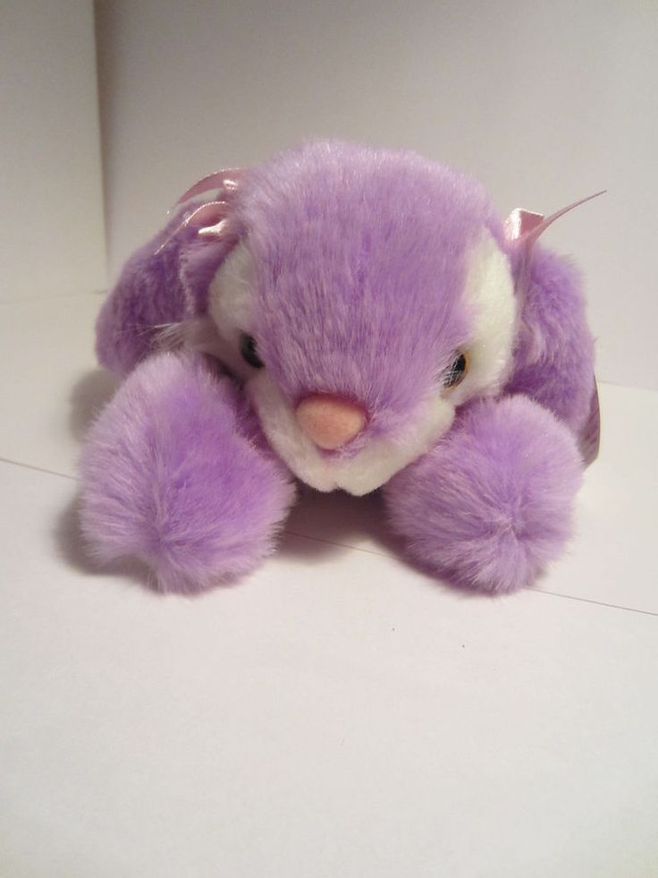 Easter Bunny Rabbit Floppy Plush Appeal Laying Down Stuffed Animal