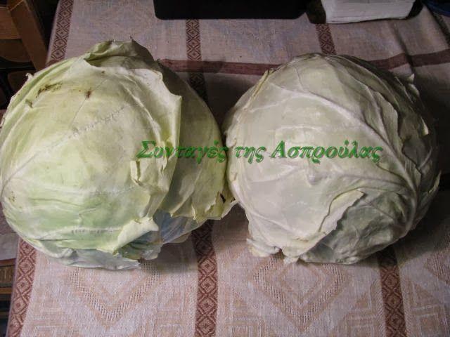 Συνταγές της Ασπρούλας: Λάχανο τουρσί σε δύο εκδοχές