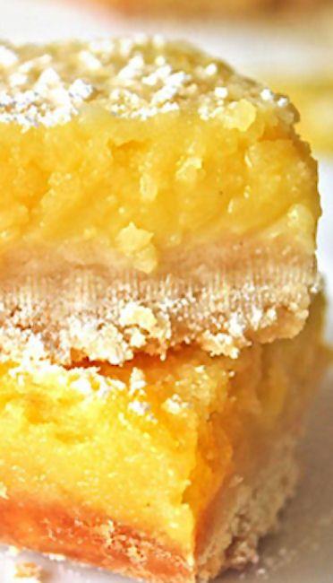 Whole Lemon Bars | BARS | Pinterest
