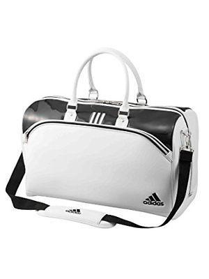 Adidas Golf Boston Bag Tour 360 W/ Shoes In Pocket Awt64 H31 X W50 X D24Cm White