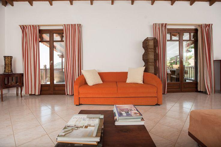 Amaryllis- the living room @Porto Koufo Resort - Halkidiki