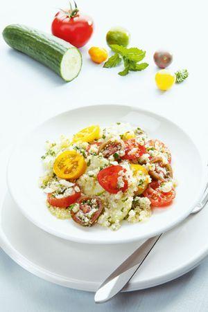 Quinoa-Salat mit Kräutern-Taboulé
