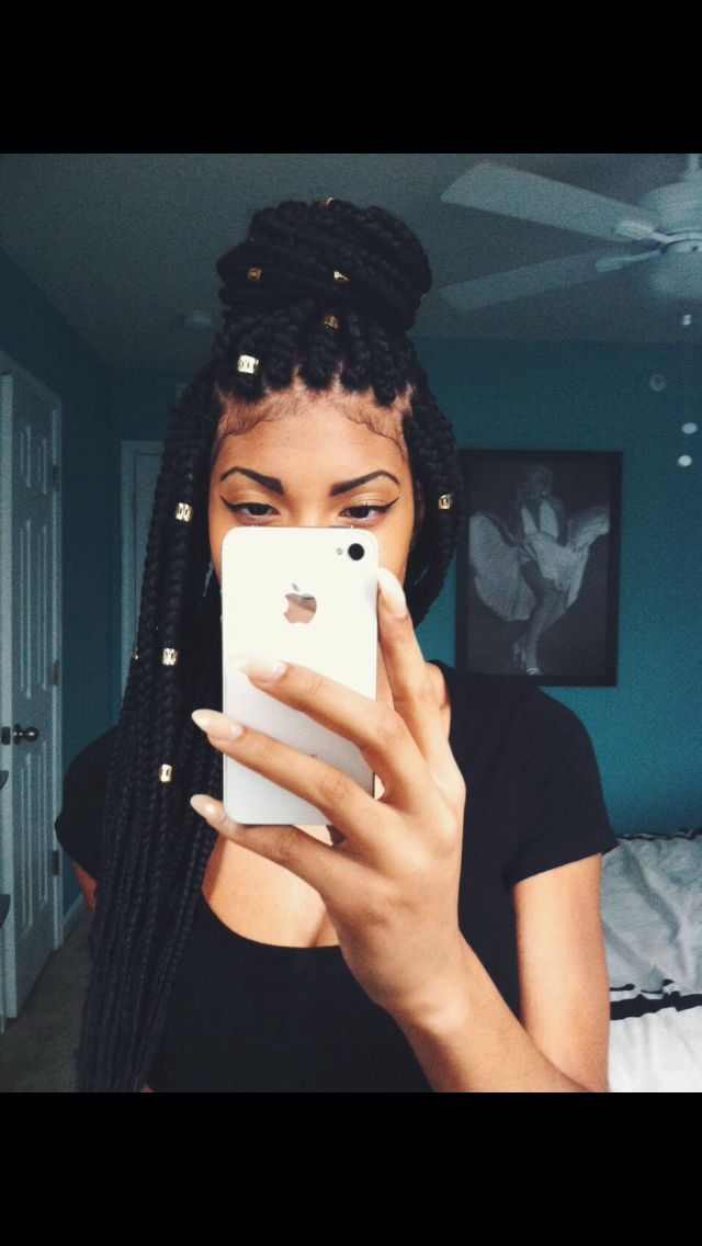 Best 25 Box braids beads ideas on Pinterest
