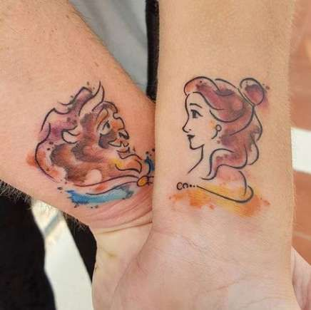 36 Ideas Tattoo Matching Disney The Beast