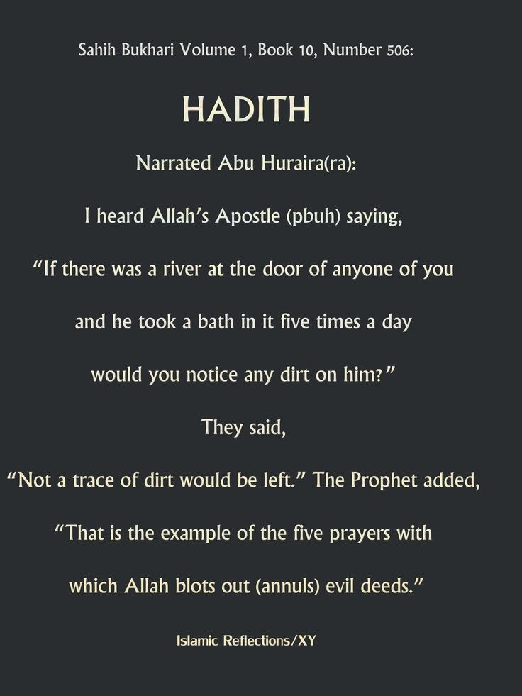 Hadith/Prayer